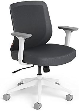 Poppin Dark Gray Max Task Chair