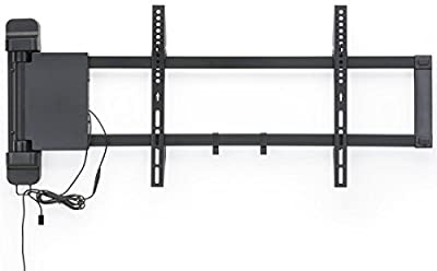 "Displays2go LM2647MOT Motorized HDTV Wall Mount, Panning Arm for 26-47"" Digital Signage Screen"