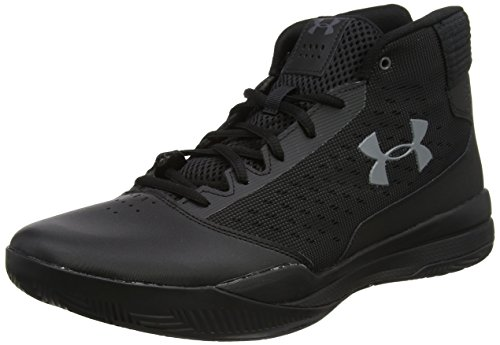 best service 48a2d 91a09 Under Armour Men s Jet 2017 Basketball Shoe, Black Graphite, ...