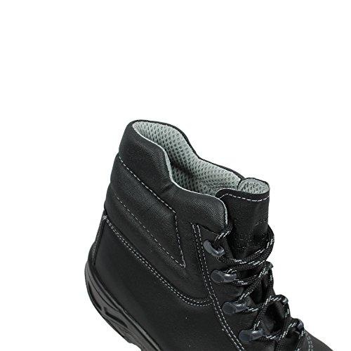 Ergos Edimbourg 2 S3 Sicherheitsschuhe Arbeitsschuhe hoch Schwarz Schwarz