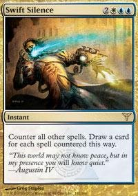 Magic: the Gathering - Swift Silence - Dissension - Foil