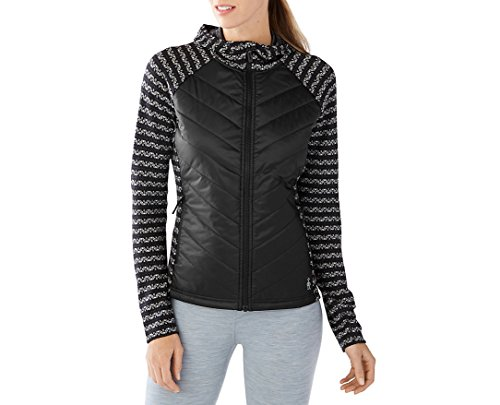 - Smartwool Women's Double Propulsion 60 Jacket (Black/Charcoal) Small