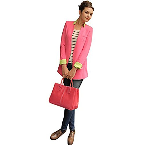 Fashion Story Women Handbag Ladies Hobo Shoulder Bag Large Compartment (Red) by Fashion Story (Image #5)