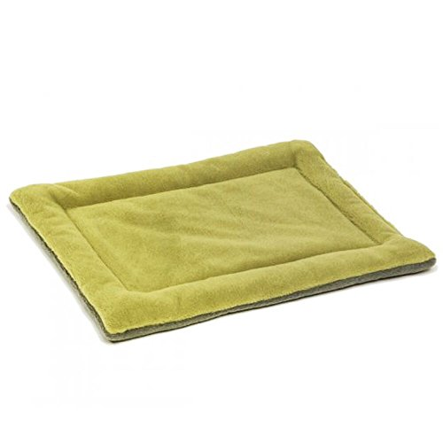 eBasics Dog Crate Mat 36 inch Dog Bed clearance Kennels Pad Cage Mat Cushion for Small Medium Dog 36L x 24W inches 1.2 inch Plush Edge Thickness Cocker Spaniel Dog Breed Kennel