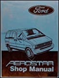 1987 Ford Aerostar Original Repair Shop Manual