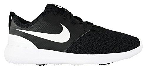 Nike Men's Roshe G Golf Shoe Black/White Size 10.5 M US
