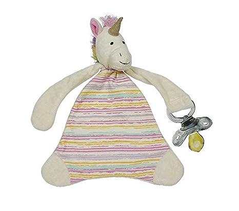 Amazon.com: Maison Chic TRIXIE el unicornio chupete Blankie ...