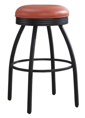 American Heritage Billiards Manhattan Counter Height Bar Stool, 26 Inch,  Orange