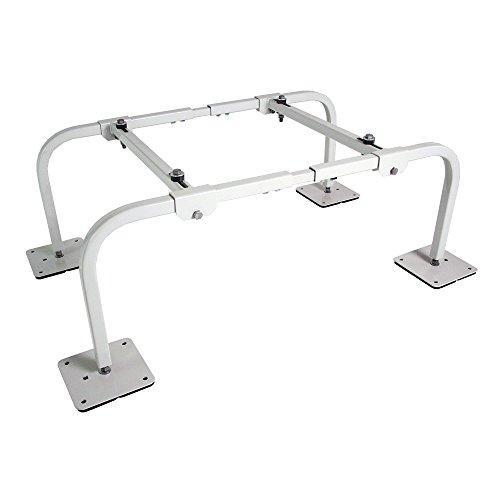 Quick-Sling QSMS1201 Wide Mini Split Stand, 14 Gauge Square Steel Tubing, 400 lb. Maximum Capacity, Fits All Mini Split Brands on the Market, 12