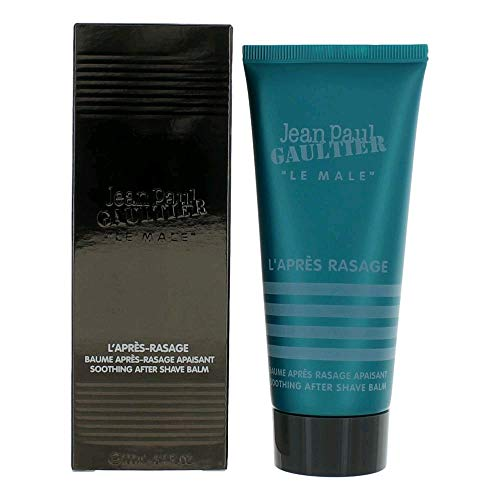 Jean paul GAULTIER Le Male Soothing After Shave Balm, 3.3 Ounce (Best Smelling Aftershave Balm)