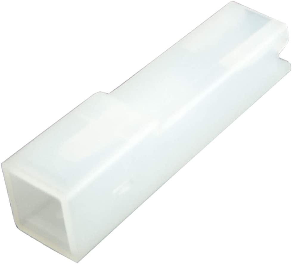 Aislamiento mangas para terminales el/éctricos hembra 4.8mm Juego de 50 AERZETIX C43810 en PA66