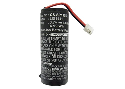 Cameron Sino® 1350mAh Li-ion Rechargeable PlayStation Move Motion Controller CECH-ZCM1E PS3 Game Console Battery Replacement for Sony LIS1441 4-168-108-01 LIP1450 4-195-094-02 (1,350 Mah Replacement)