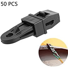 Ezyoutdoor Tent Fixed Buckle Big Alligator Clip Tent Pull Point Clip Hook Buckle Tent Accessories Outdoor Tools Camping Travel Kits