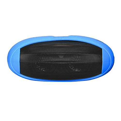 boAt Rugby 10W Portable Bluetooth Speaker with AUX Compatibility, Up to 8H Playtime, Sporty Industrial Design, Easy Access Integrated Controls and Mic (Blue)