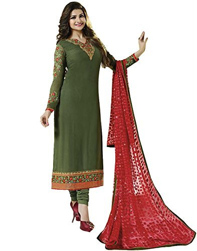 RGN-Retails Womens India Bazaar Georgette Dress Material RGN - Women Indian Suits