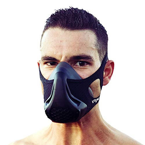 VO2MAX Workout Training Mask | Oxygen Restricting High Eleva