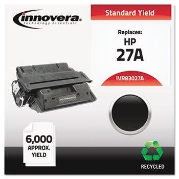 INNOVERA 83027A Toner Cartridge for hp Laserjet 4000, 4050 Series, Black, remanufactured