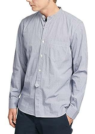 French Connection Black & White Round Neck Shirts For MEN 52IAL-BLAK M