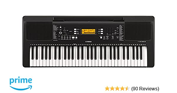 Amazon.com: Yamaha PSR-E-363 61-Key Touch Sensitive Portable Keyboard: Musical Instruments