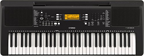 Yamaha PSR-E-363 61-Key Touch Sensitive Portable Keyboard - Stand Yamaha Classical