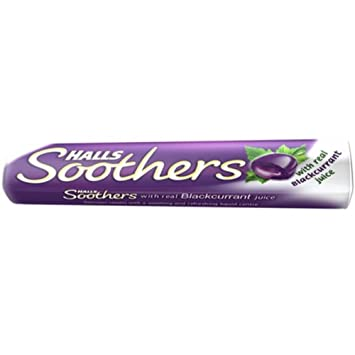 a4afe5a9daa Amazon.com : Halls Soothers Blackcurrant Flavour (pack of 20) with ...