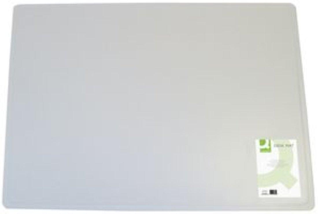 q connect 400x530mm desk mat transparent amazon co uk office rh amazon co uk Transparent Cartoon Desk large transparent desk pad