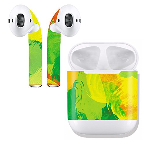 Apple 505 (Airpod Skins and Charging Case Protective Wraps ¨C Soundmae 2 in 1 Airpod Stylish Customize Sticker and Protective Skin for Apple AirPods - No.505, 2 Sticker Set)