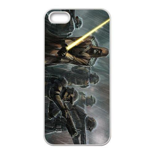 Star Wars The Old Republic 12 coque iPhone 4 4s cellulaire cas coque de téléphone cas blanche couverture de téléphone portable EEECBCAAN00446