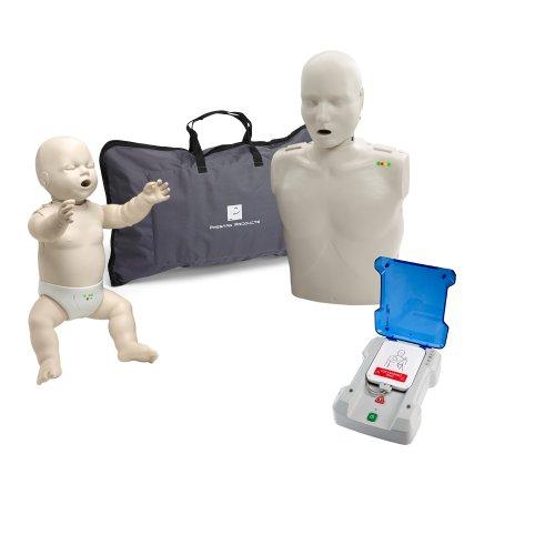 Beginner Instructor Package - Prestan Manikins (LS) w/ Monitor - Prestan Pro AED Trainer