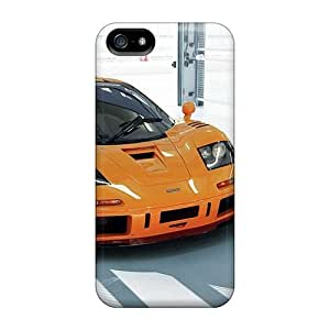 5/5s Scratch-proof Protection Case Cover For Iphone/ Hot Orange Vehicles Mclaren F1 Phone Case