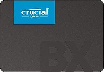 Comprar Crucial BX500 240 GB CT240BX500SSD1 Unidad interna de estado sólido, hasta 540 MB/s (3D NAND, SATA, 2.5 Pulgadas)