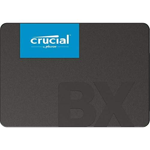 Crucial CT240BX500SSD1 SSD Interne BX500 (240Go, 3D NAND, SATA, 2,5 Pouces)
