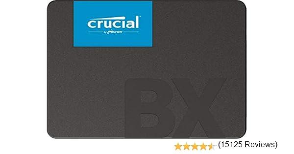 Crucial BX500 CT480BX500SSD1 Disco Duro Sólido Interno SSD de 480 ...