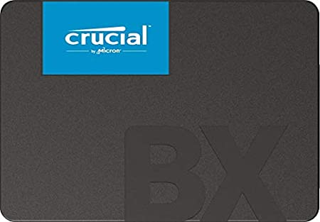 Crucial BX500 240GB 3D NAND SATA 2.5-inch SSD (CT240BX500SSD1) Internal Solid State Drives at amazon