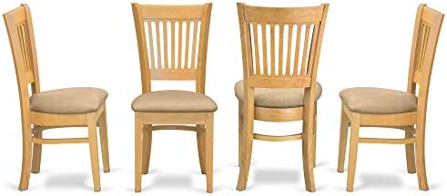 home, kitchen, furniture, kitchen, dining room furniture,  chairs 4 picture East West Furniture VAC-OAK-C Vancouver padded deals