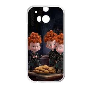 Disneys Brave HTC One M8 Cell Phone Case White MUS9170733