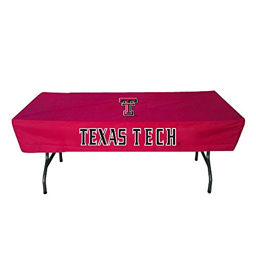 Rivalry Distributing RIV-RV400-4600 Texas Tech Red Raiders NCAA Ultimate 6 Foot Table Cover