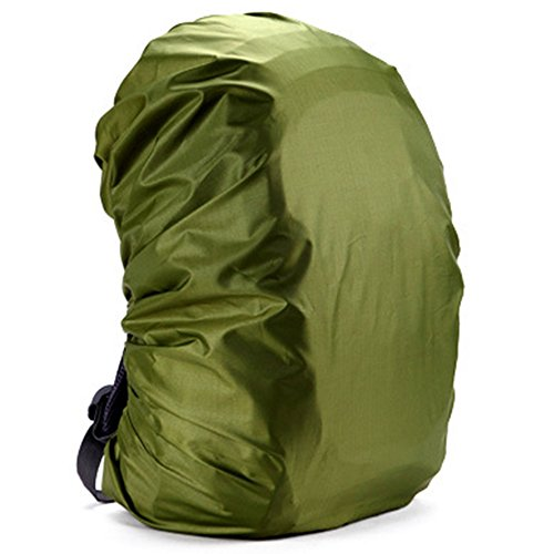 SINAIRSOFT Backpack Waterproof Cover For 20L 30L 35 40L 50L 60L 70L 80L Backpack (ARMY GREEN, 35-50L)