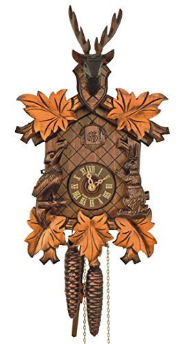 Deer Heads Cuckoo Clock - 5