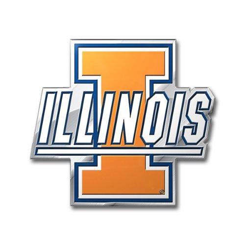 Team ProMark NCAA Illinois Fighting Illini Die Cut Color Auto Emblem