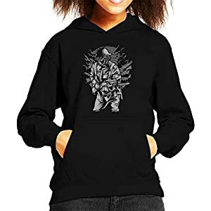 Steampunk Style Soldier Kid's Hooded Sweatshirt