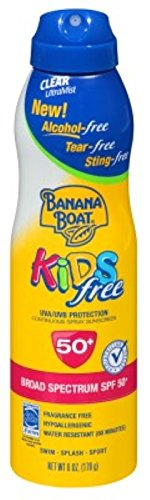 Banana Boat Continuous SPF#50 + Spray Kids 6 oz. (Tear-Free)
