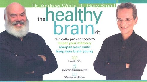The Healthy Brain Kit: Clinically Proven Tools to Boost Your Memory, Sharpen Your Mind, and Keep Your Brain Young [With 35 Brain-Training Cards and 2 [HEALTHY BRAIN KIT W/2CD]