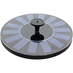 TOOGOO(R) CF002 Floating Solar Fountain for Bird Bath