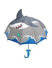 KIDORABLE Boys' Shark Umbrella