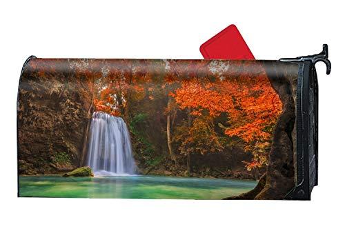XPNiao Magnetic Garden Yard Mailbox Cover Waterfall Travel Tourism River by XPNiao
