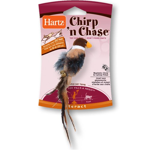Hartz Chirp n Chase Cat Toy, My Pet Supplies