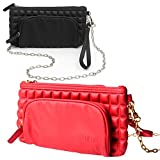 LULUCCI - Pack of 2 - EpiPen Carrying Case Wristlet
