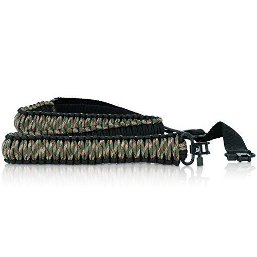 2 Point Gun Sling by Stress Free Key - Shotgun Accessories, Rifle Accessories, Rifle Sling, Shotgun Sling, Gun Accessories, Riflesling, Gunsling - 4 Colors - Parachord Sling