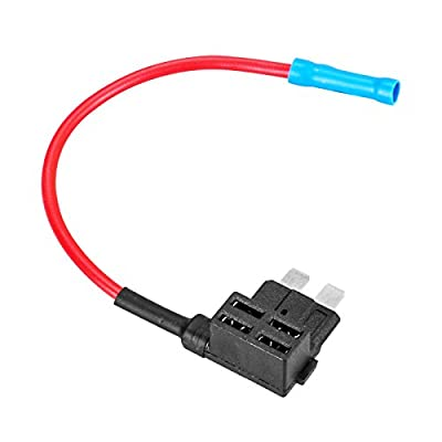 12/24V/32V Standard ACU Add-A-Circuit Fuse Holder Tap Adapter Maximum 20A Piggy Back Fuses Tap Fit for ATC Fuse: Automotive
